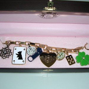 AUTHENTIC JUICY COUTURE LUCK-OF-THE-DRAW BRACELET